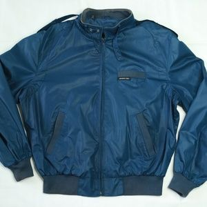 Vintage Member's Only Bomber Flight Jacket